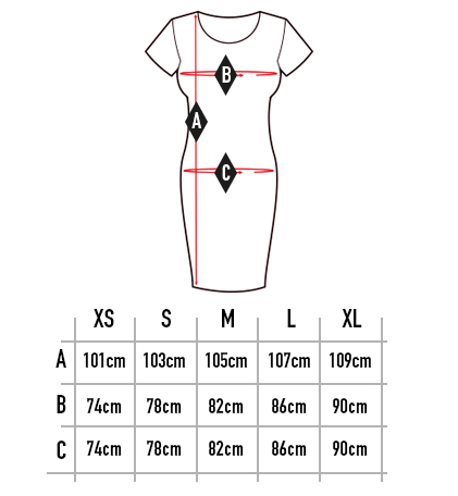 Sizechart Dress Women